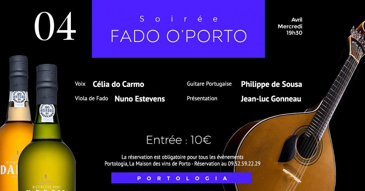 Soirée Fado O'Porto – Celia Do Carmo 🗓 🗺