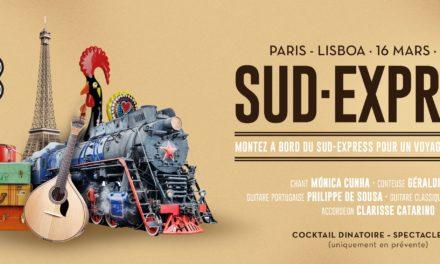 Sud Express Paris – Lisboa 16 Mars 2018 🗓