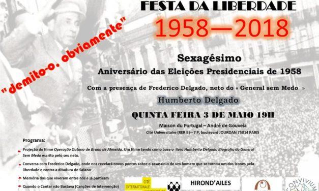Fête de la liberté  1958-2018