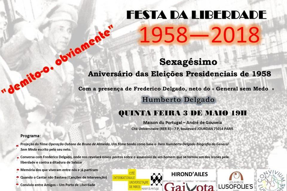Fête de la liberté  1958-2018 🗓 🗺
