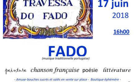 Les rencontres mensuelles de Gaivota – Fado  – Juin 🗓 🗺