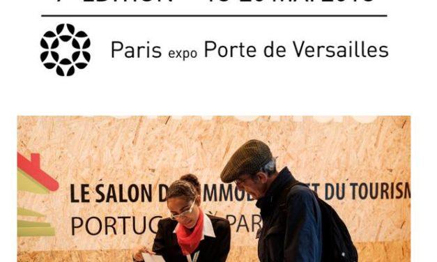 18 – 20 MAI 2018 Salon de l'immobilier et du tourisme portugais à Paris