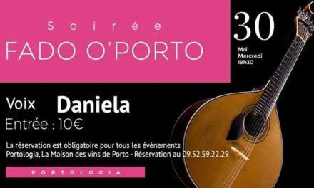 Soirée Fado O'Porto – Daniela 🗓 🗺