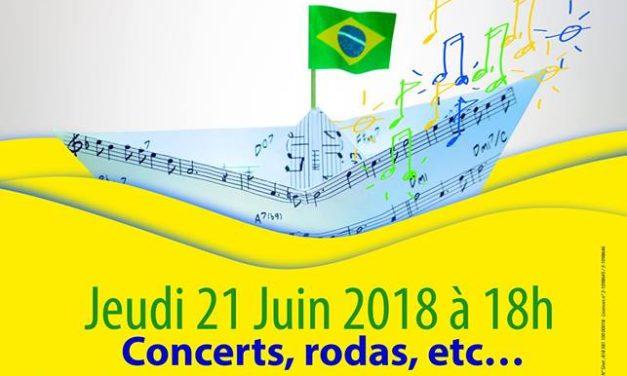 Brésil et France fêtent la Musique