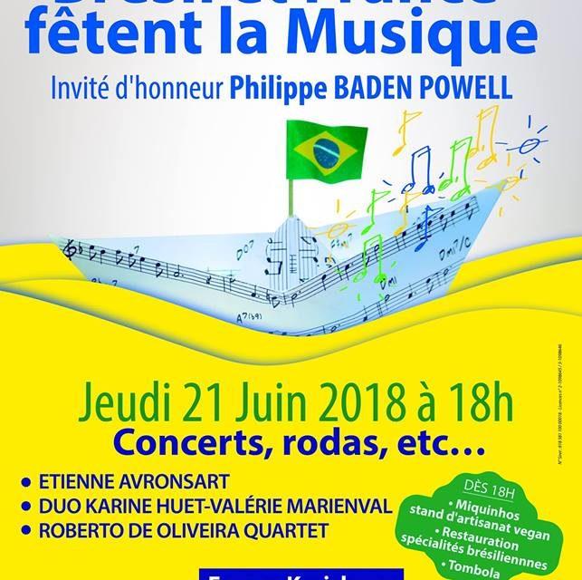 Brésil et France fêtent la Musique 🗓 🗺