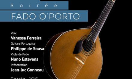 Soirée Fado O'Porto – Vanessa Ferreira 🗓 🗺