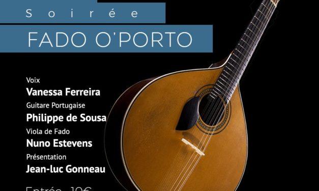 Soirée Fado O'Porto – Vanessa Ferreira