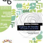 Rencontre littéraire avec Aleilton Fonseca : La guerre de Canudos