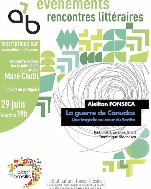 Rencontre littéraire avec Aleilton Fonseca : La guerre de Canudos 🗓 🗺