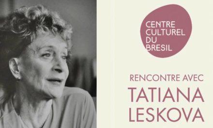 Rencontre avec Tatiana Leskova 🗓 🗺