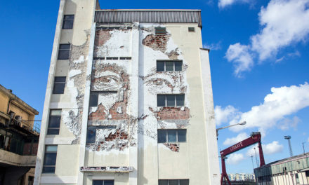 Fragments urbains – Vhils 🗓 🗺