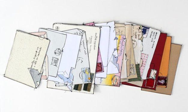 Exposition «Correspondance : Mémoires archivées» – Alexandra de Pinho