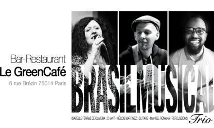 Brasil Musical Trio au Green Café 🗓 🗺