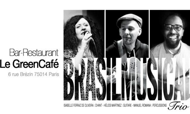 Brasil Musical Trio au Green Café