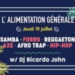 DJ Ricardo John : Forro, Samba, Axé, Reggaeton , ..