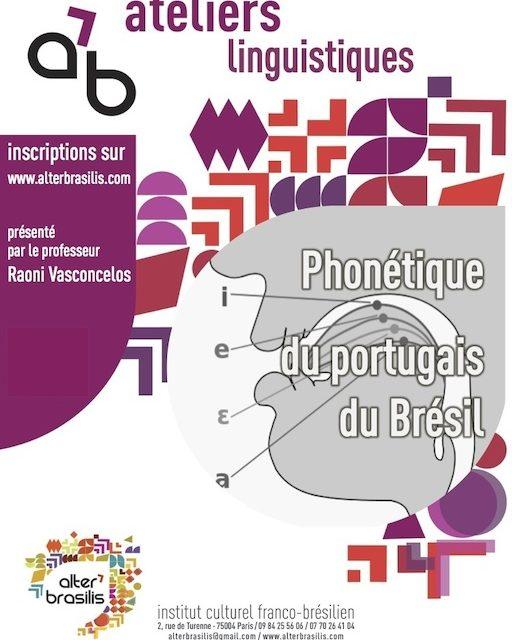 Phonétique du portugais du Brésil 🗓 🗺