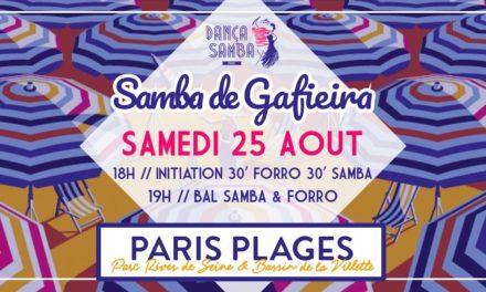 Samba de Gafieira @ Paris Plage 🗓 🗺