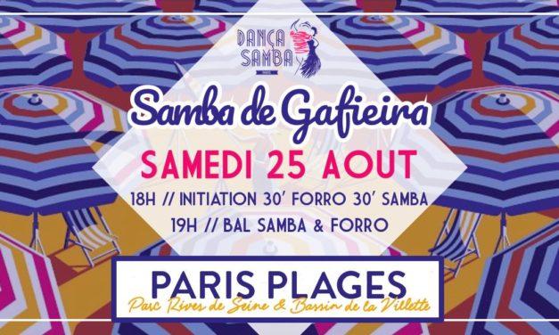 Samba de Gafieira @ Paris Plage