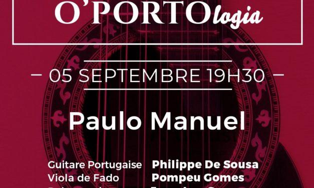 Soirée Fado O'Porto – Paulo Manuel