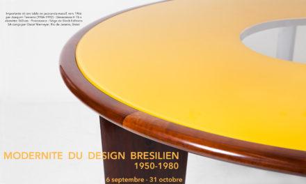 Modernité du design brésilien de 1950 à 1980 🗓 🗺